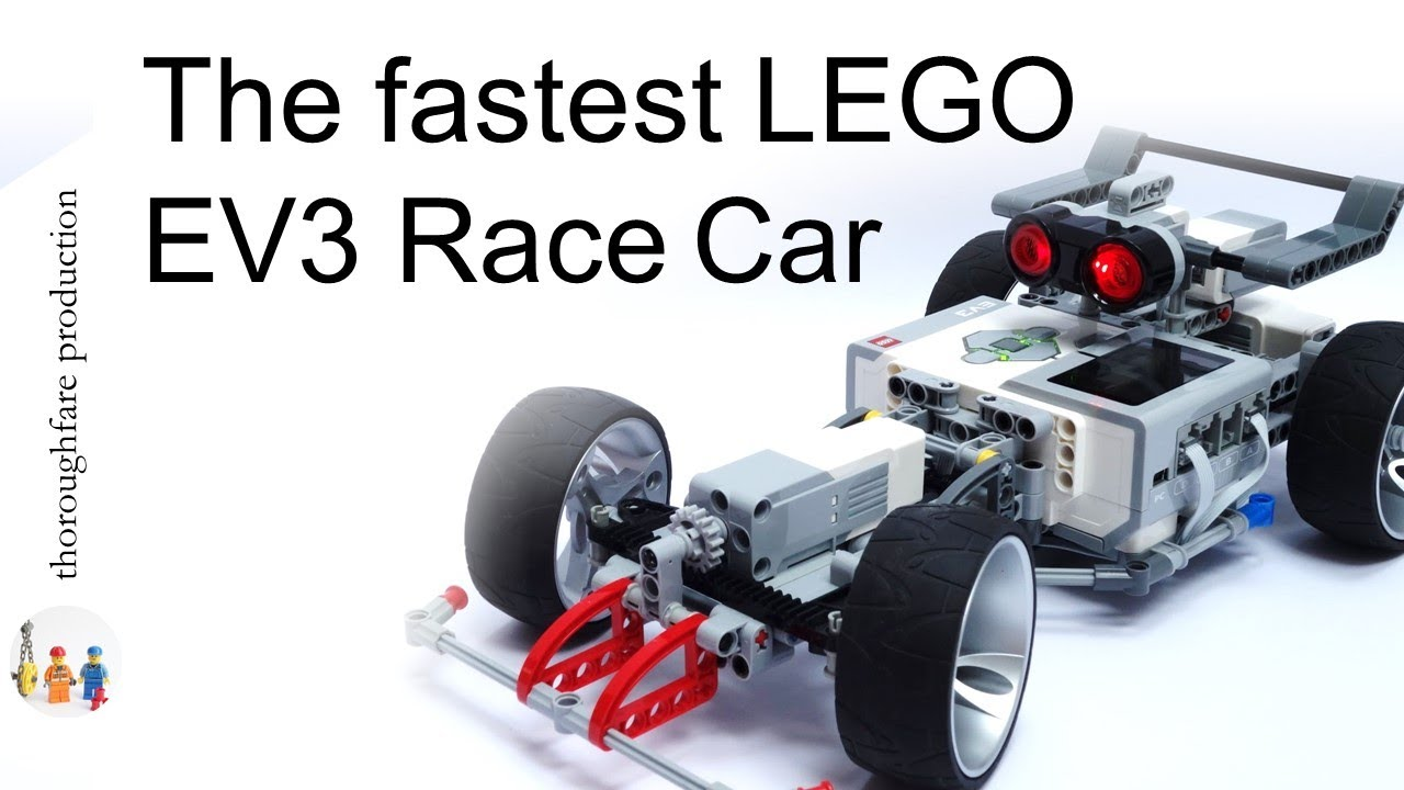 LEGO Mindstorms EV3 Formula 1 Race Car