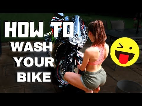 How to Wash Your Motorcycle | Just For Fun