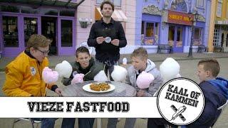 #2 Smerig Fastfood: Hersenen eten | Pretpark Walibi