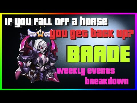 IDLE HEROES E3 Baade Review & Detailed Weekly Events Breakdown Starlight, Ormus, Rosa [iOS]