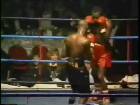BRITISH EMPIRE COMMONWEALTH FEATHERWEIGHT TITLE 1991- Francis VS Napunyi