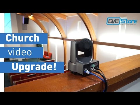 Church Video Upgrade - SD to HD; PTZ, vMix & NDI!