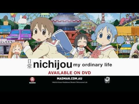 Nichijou Available Now on DVD - Madman Official Trailer