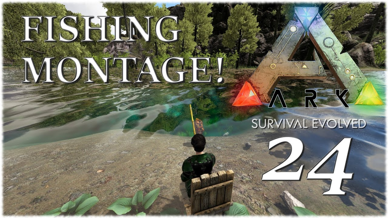 Ark survival evolved ragnarok ep 24 fishing montage ark survival evolved ragnarok ep 24 fishing montage ascendant fishing rod malvernweather Image collections