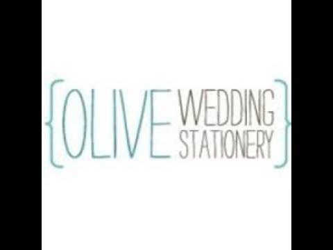 OLIVE WEDDINGS STATIONERY WEDDING SAMPLES KIT OPENING