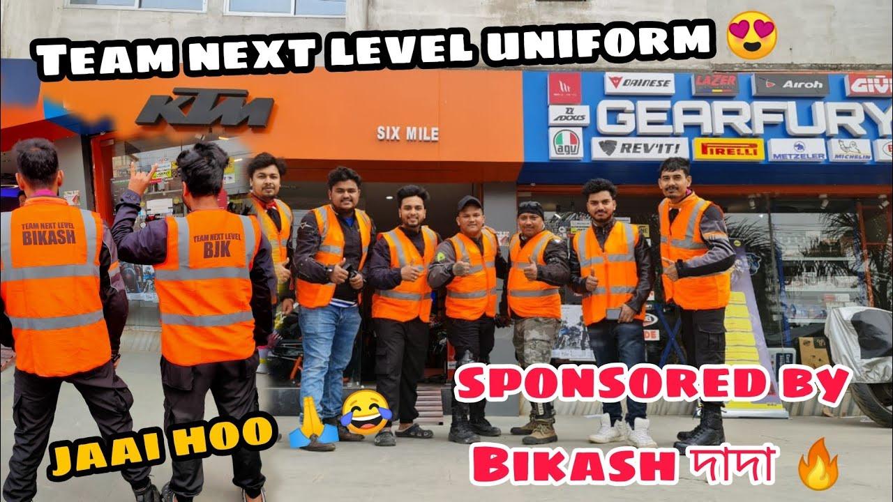 Team Next Level Official গ্ৰুপৰ uniform 😍 Bikash daa gift দিছে 🔥 | Assamese vlog | BJK vlogs