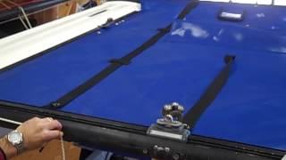 Hobie Miracle 20 Catamaran Trampoline Installation