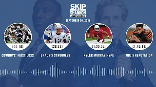 UNDISPUTED Audio Podcast (9.30.19) with Skip Bayless, Shannon Sharpe & Jenny Taft | UNDISPUTED