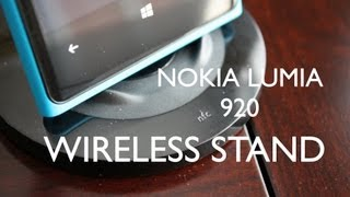 Nokia Wireless Charging Stand for Lumia 920 Review and Unboxing DT-910