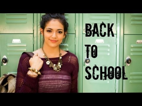 Fast Fabulous Back To School Hair Makeup Outfit Youtube