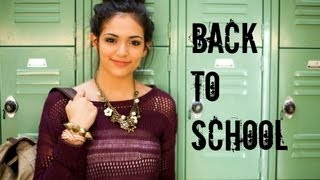 Fast & Fabulous: Back to school Hair, Makeup, Outfit!