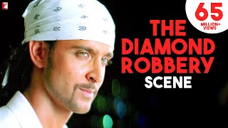 Scene: The Diamond Robbery | Dhoom:2 | Hrithik Roshan
