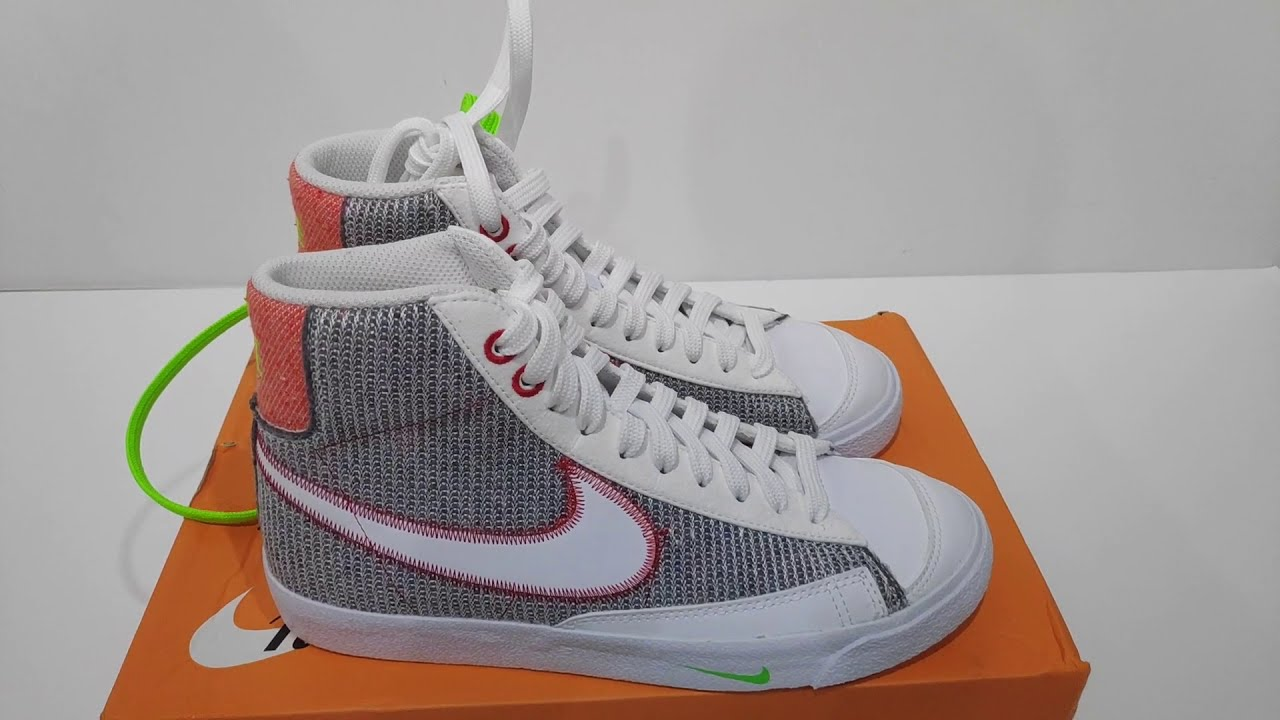 Quick Look : Nike Blazer Mid 77 Recycled