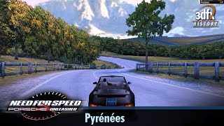 3dfx Voodoo 5 6000 AGP - Need For Speed: Porsche Unleashed - Pyrénées [Gameplay]
