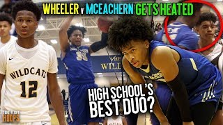 Sharife Cooper & Isaac Okoro Respond To TRASH TALK WITH 60 PTS IN HEATED RIVALRY MATCHUP vs Wheeler!