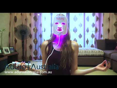 Aduro Australia Personal LED Mask - Best LED Light Therapy Device