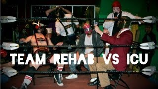 Team Rehab (The Dude & Bar Fly) vs ICU (Doctor Tetanus & Nurse Gurse)