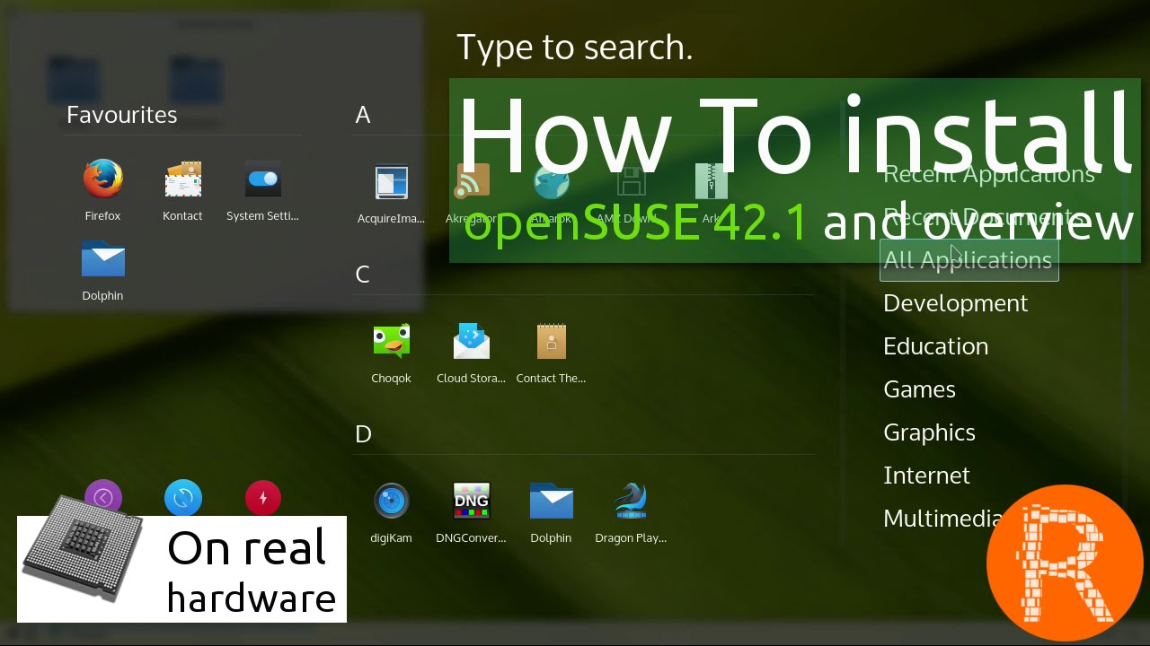How To install openSUSE 42 1 and overview | The choice for sysadmins,  developers and desktop users