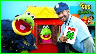 Pretend Play Police Help Gus the Gummy Gator learn Good Habits for Kids
