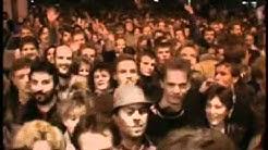 Die Öffnung der Mauer in Berlin, Bornholmer Strasse, 1989