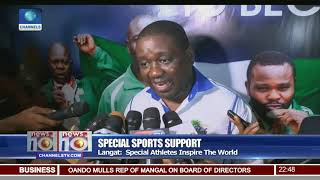 Special Sports Support: Peak Unveils Renovated Gym In Lagos