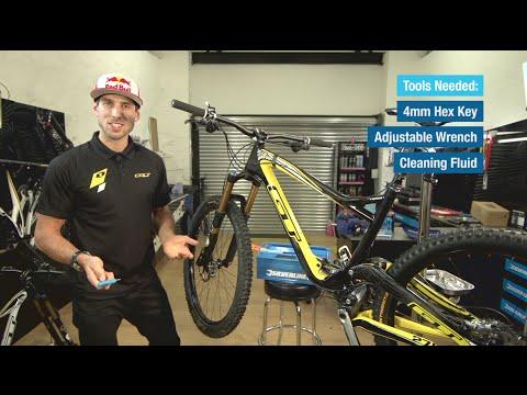 Bicycle Disc Brake & Brake Caliper Maintenance With Gee Atherton
