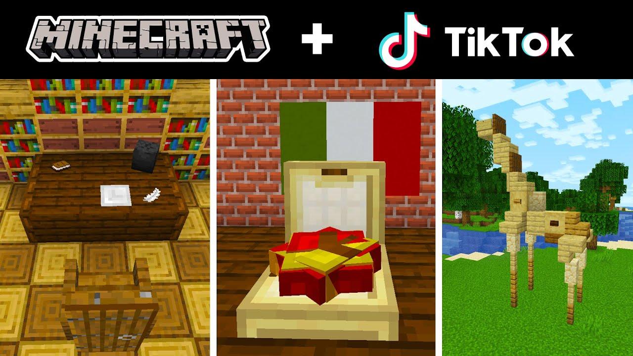 Minecraft Tik Tok Compilation 35