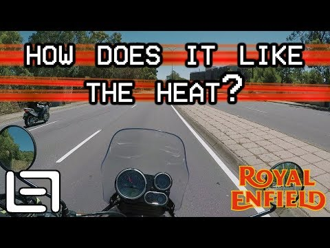 How Does It Handle The Heat? - Royal Enfield Himalayan