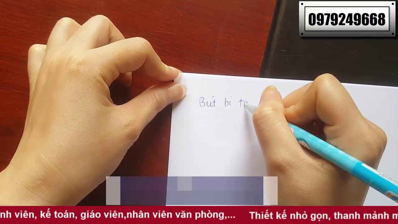Bút bi tẩy xóa được khi viết sai – cách tẩy mực bút bi trên giấy