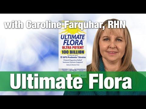 Renew Life Ultimate Flora Ultra Potent With Registered Holistic Nutritionist Caroline Farquhar