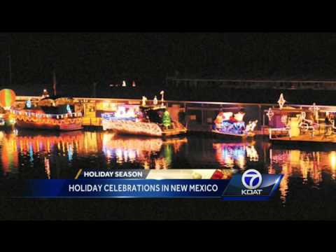 Holiday celebrations in New Mexico