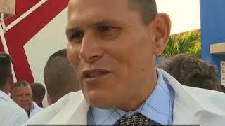52名古巴医护人员启程前往意大利 帮助该国抗议新冠疫情