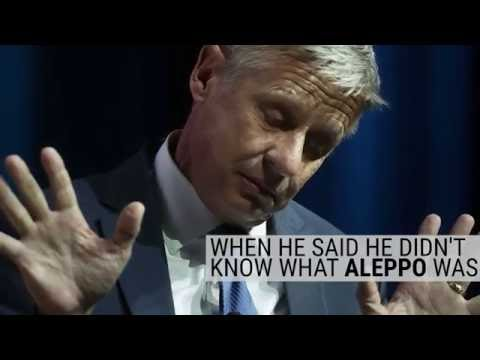 Gary Johnson stuns MSNBC panel: 'What is Aleppo?'