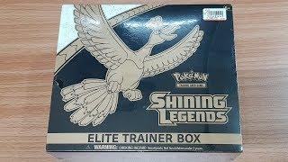 Pokemon -SHINING LEGENDS ELITE TRAINER BOX- SHINING HO-OH