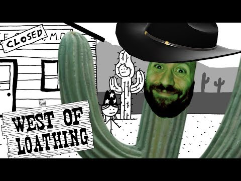 CACTUS BILL AND THE SLEEPY BANDITS | West of Loathing Part 2