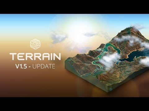 What's New In V1.5 - 3D Map Generator - TERRAIN - Photoshop Plugin