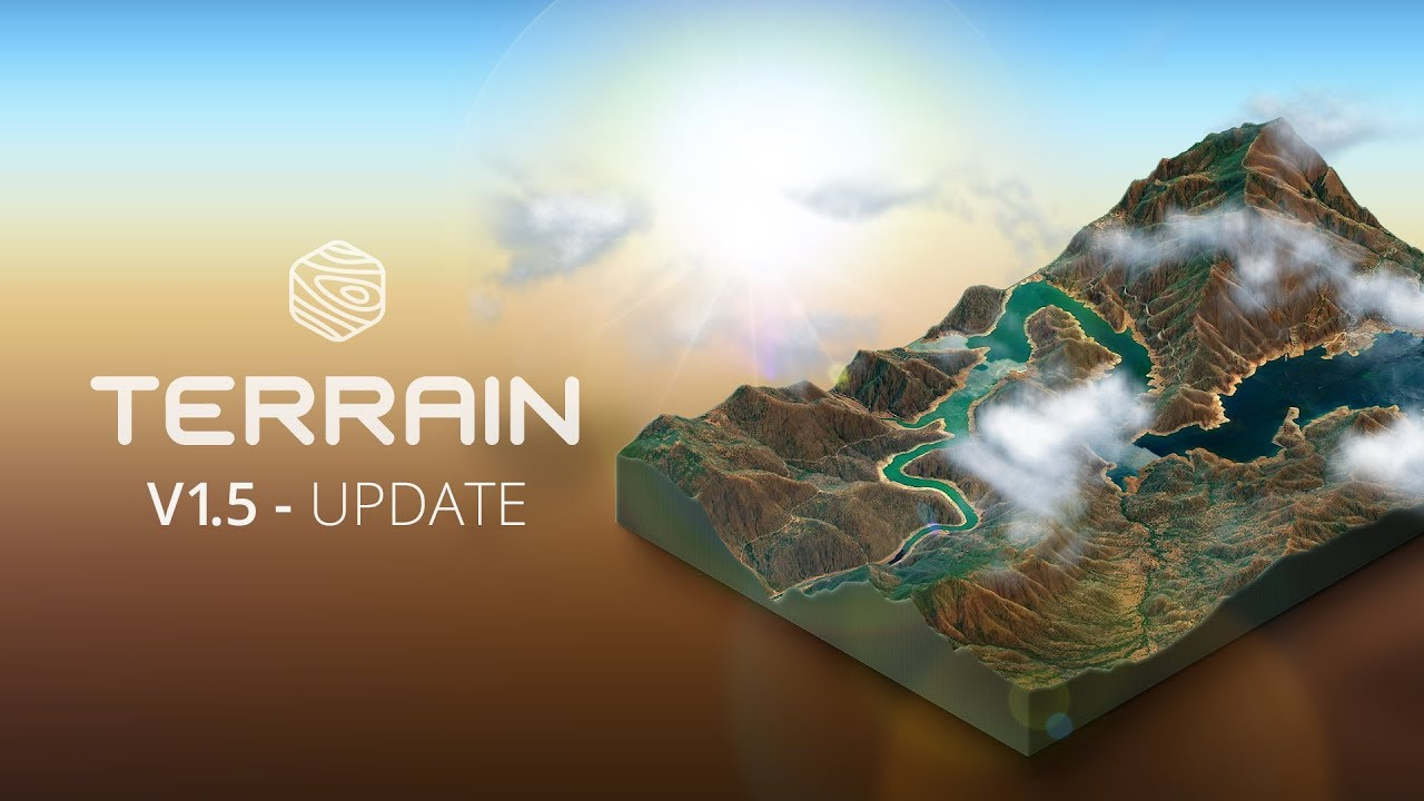 What S New In V1 5 3d Map Generator Terrain Photoshop Plugin