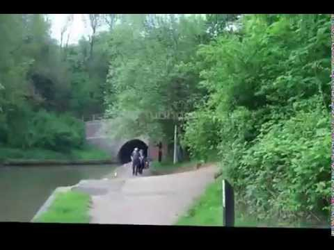 Cycling London to Birmingham and back 180 miles in May 2014 on Grand Union Canal