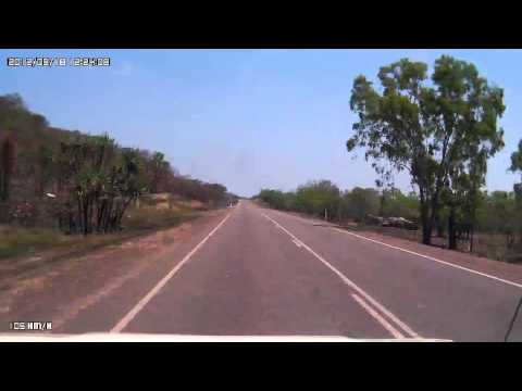 Video 211-Stuart Highway-Emerald Springs Roadhouse to the Dorat Road T/O