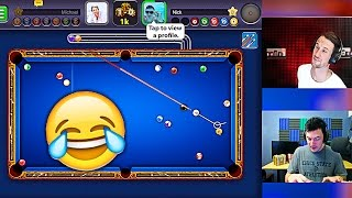 8 BALL POOL • Molt VS NickAtNyte •I'M A PRO!