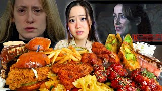 Download Horror Movie Actress Turned Out To Be Real Life Monster? - Story of Wyn Reed | Cheesecake Mukbang