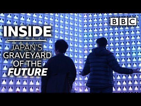 Inside the Japanese graveyard of the future! | Japan With Sue Perkins - BBC