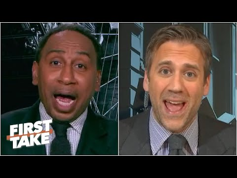 Stephen A. and Max get heated over LeBron vs. Kawhi | First Take