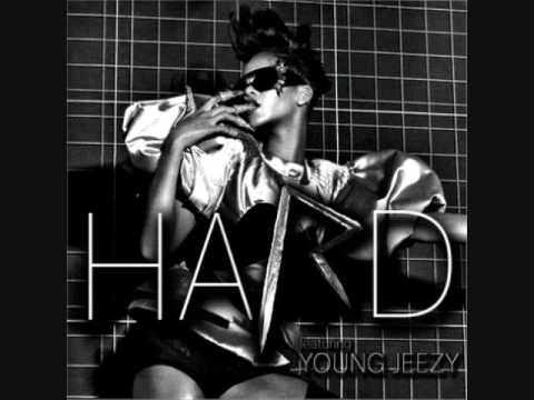 Rihanna Feat. Young Jeezy- Hard ( Instrumental With Hook)
