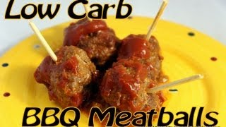 Atkins Diet Recipes: Low Carb Cocktail Meatballs (if)
