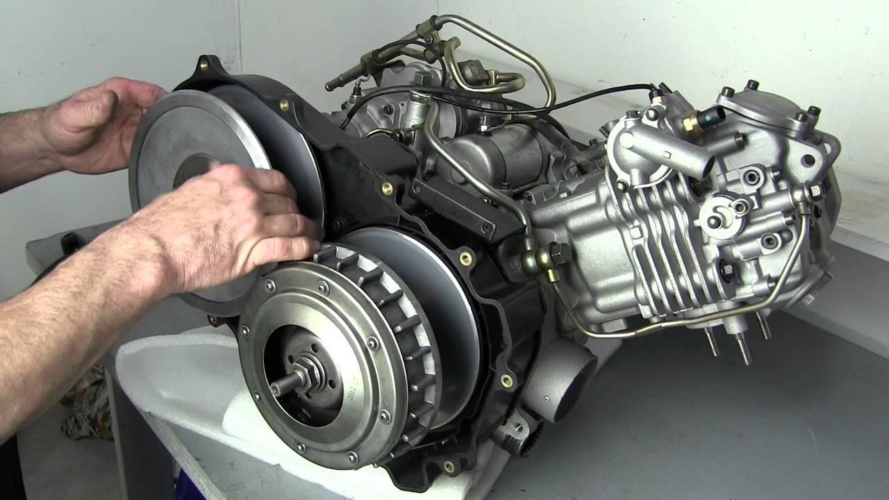CVT Drive System  YouTube