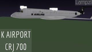 ROBLOX | K AIRPORT CRJ 700 Flight (Staff)