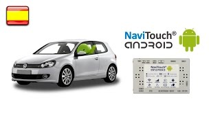 Volkswagen RNS 510 con Android !!! - NaviTouch® Android