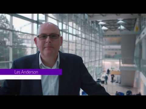 Les Anderson, Chief Security Officer, BT