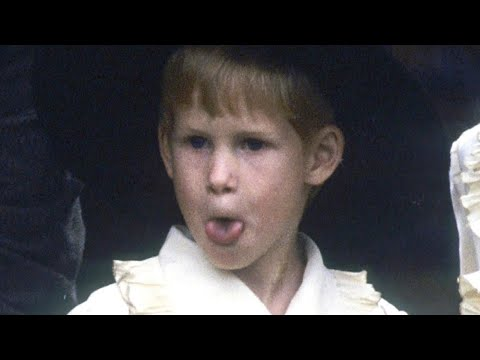 Prince Harry Was a Cheeky Pageboy at Princess Diana's Brother's Wedding in Amazing Throwback